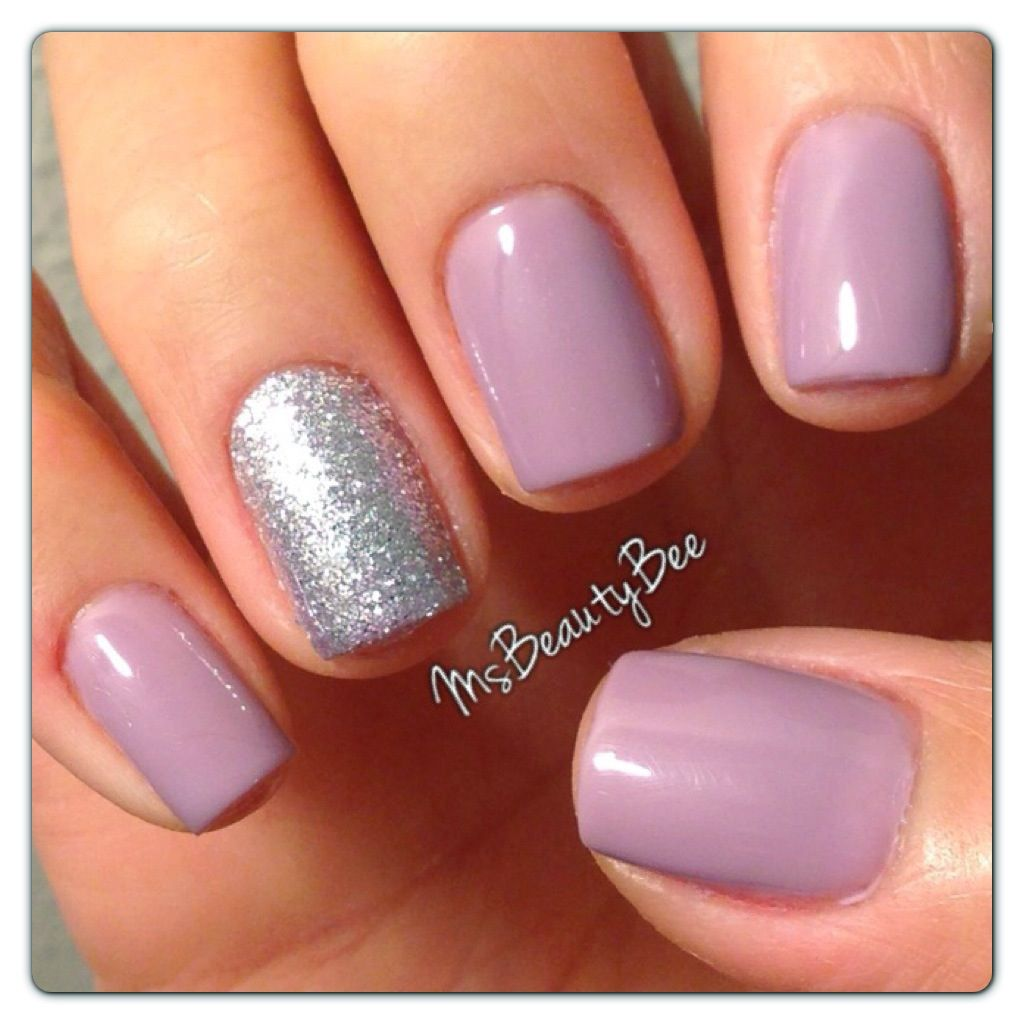 Gelish - Princess Tiara nail polish. This color is lavender when you ...