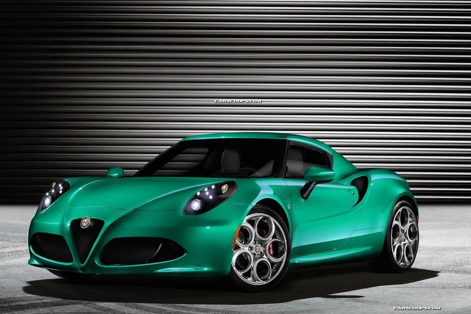 Alfa Romeo 4C 3D Wallpapers HD Alfa romeo