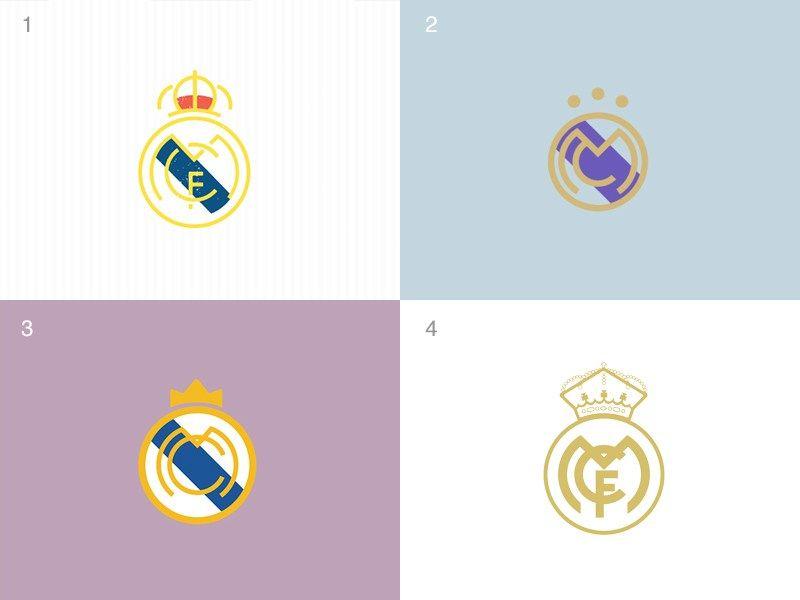 Minimal Trend Footy Design Minimal Trend Pop Art Design Real Madrid Logo