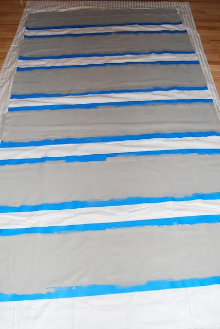 painting curtains