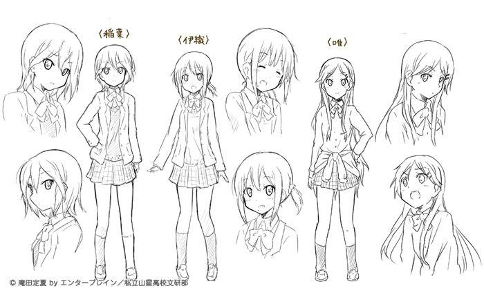 how to create a manga character