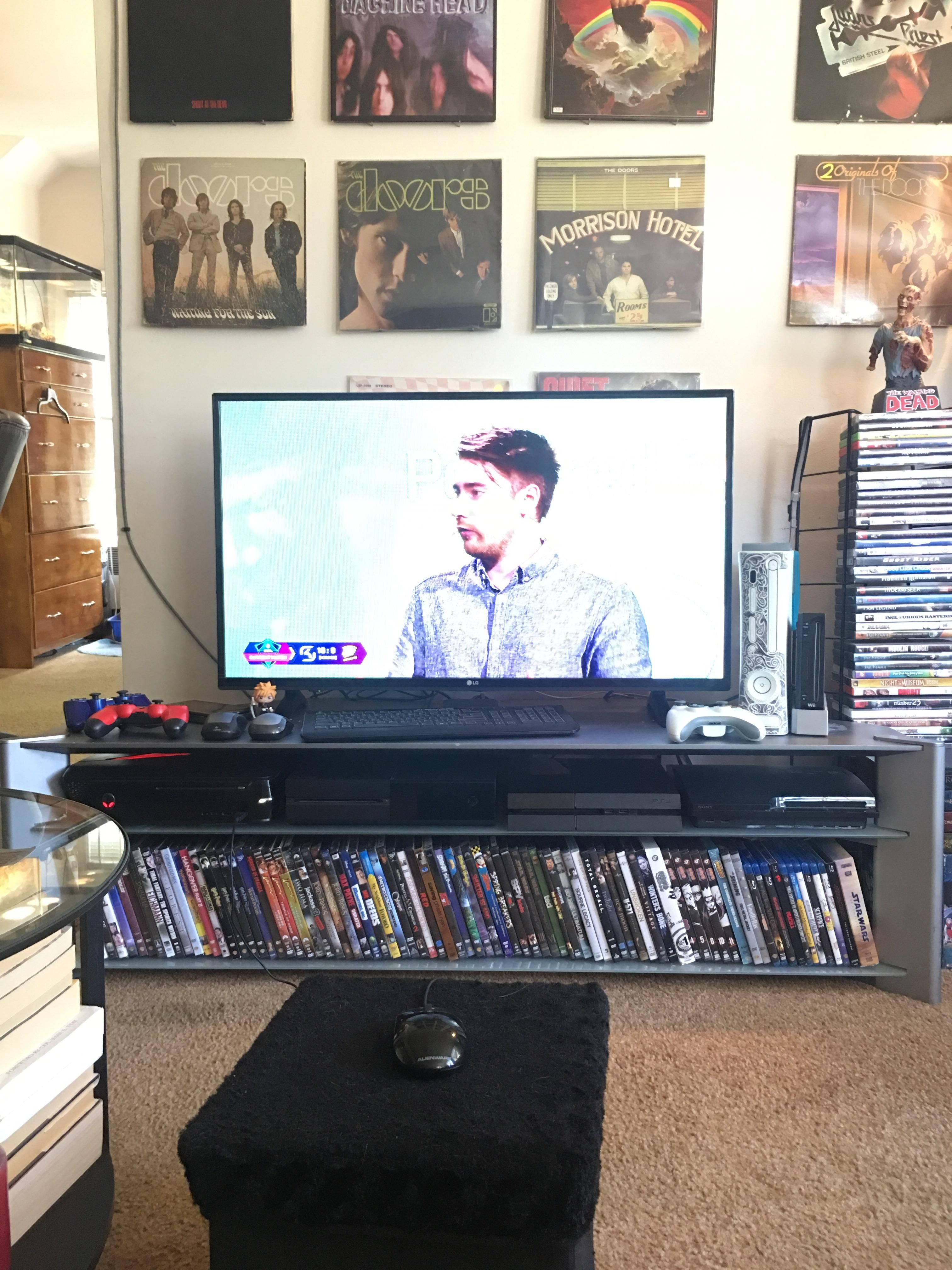 xbox one living room current living room setup alienware xbox one ps4 xbox 13085