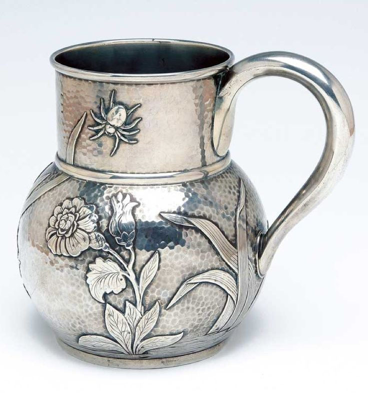 pavel ovchinnikov silver | LATE 19TH CENTURY RUSSIAN SILVER JUG, MAKER PAVEL OVCHINNIKOV ...