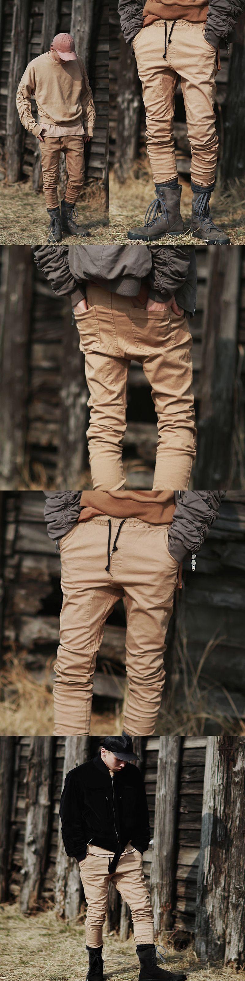 ba0aa66a7 Cool New Fashion Mens Joggers Cargo Men Pants Sweatpants Harem Pants Men  Pantalones Hombre Casual Pants