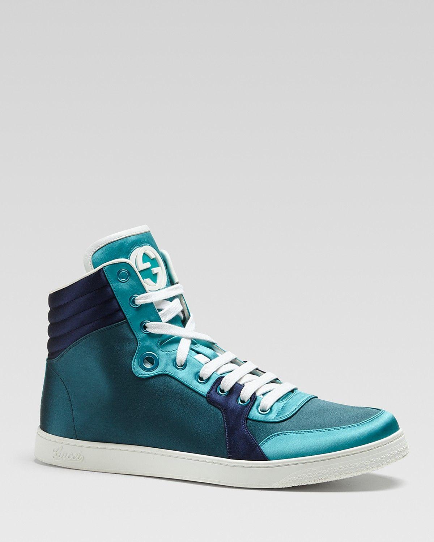Gucci Coda Satin High Tops | Bloomingdale's