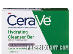 photograph about Cerave Printable Coupon identified as Pin by means of Freebie Large upon Freebies Totally free Things Facial bar