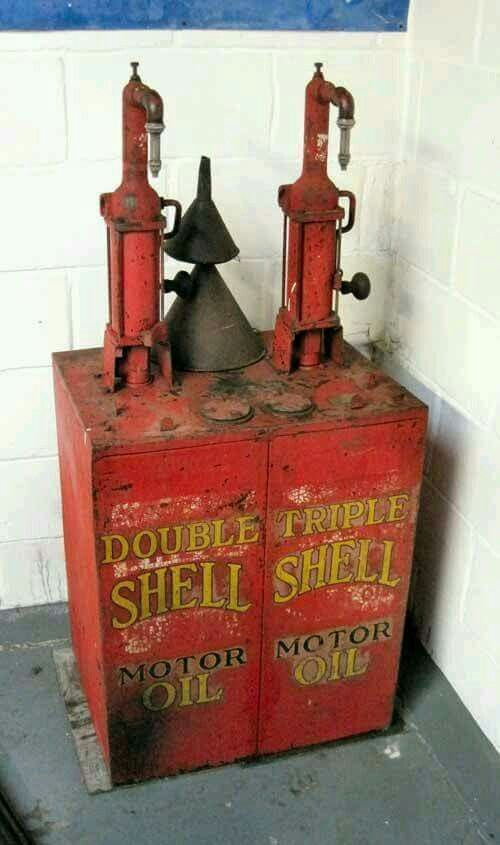 Motor Oil Dispenser Lubester Vintage Gas Pumps Old Gas Stations Old Gas Pumps