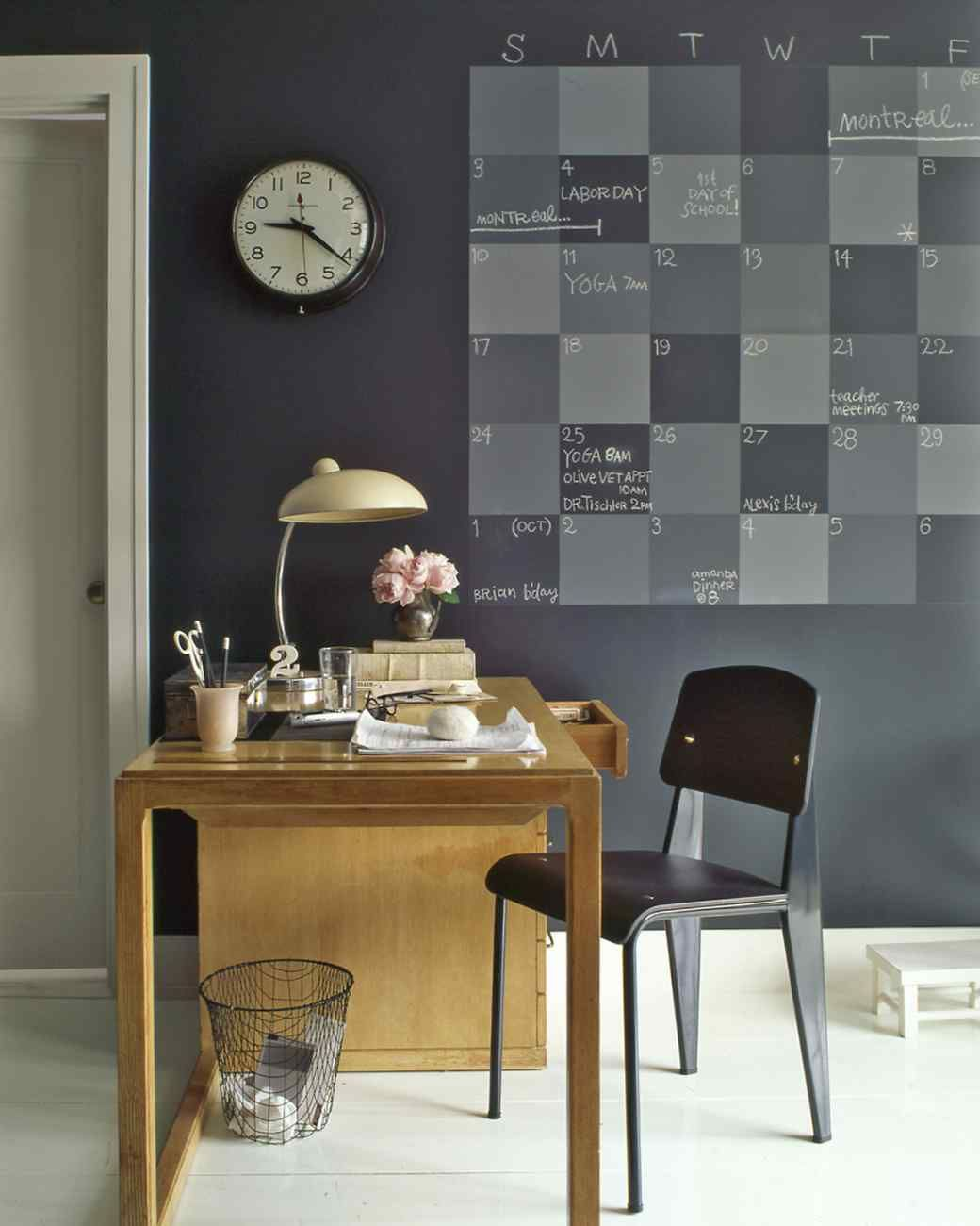 How to make chalkboard paint: http://www.marthastewart.com/271574/custom-color-chalkboard-paint