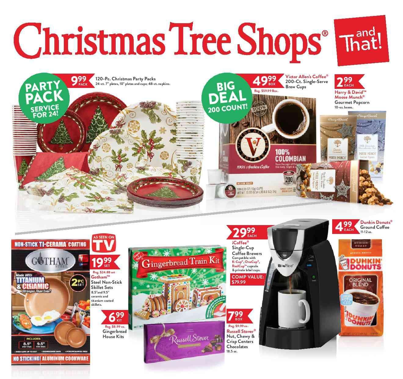 christmas tree shop sale flyer