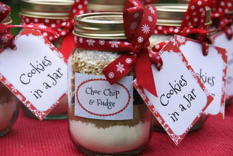 Day 5 cookies in a jar free printable gift tags free cookies in a jar gift with free printable gift tags labels instructions negle Gallery