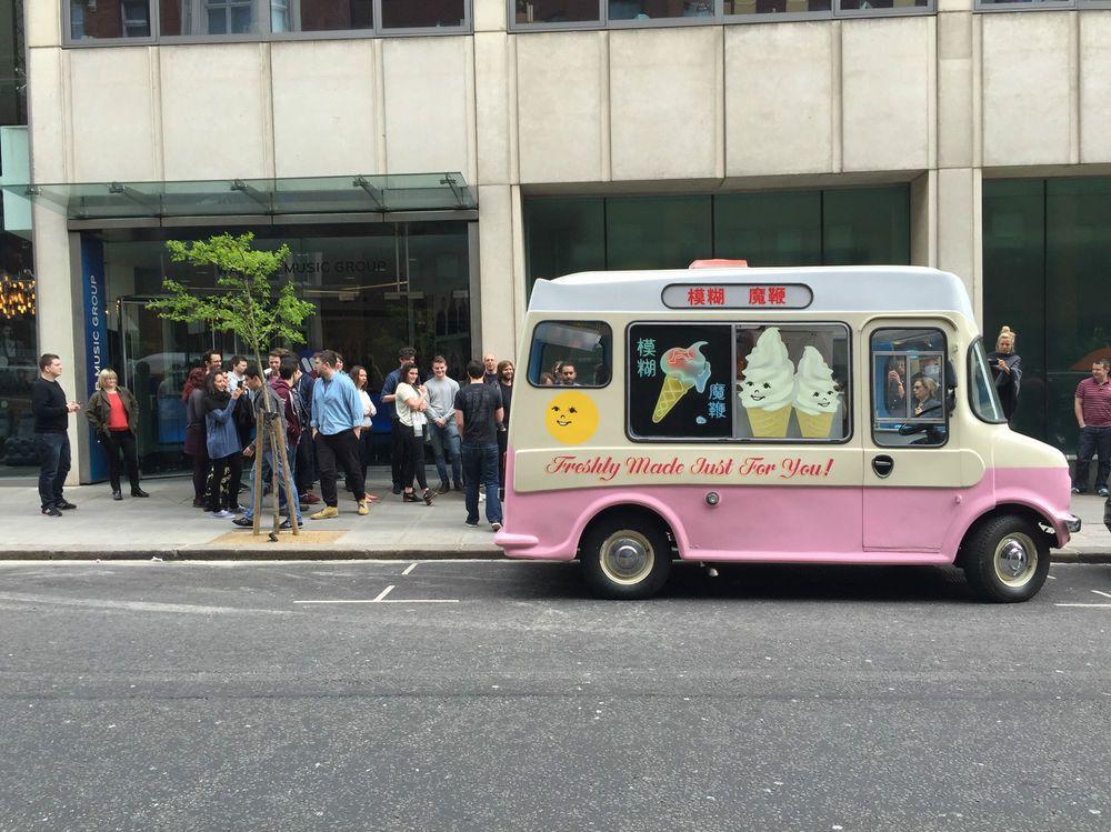 c73a6af167 BLUR  The Magic Whip  1979 Bedford Ice Cream Van 2l Diesel STAR BOOT ...