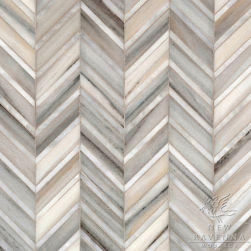 New Ravenna herringbone/chevron tile pattern | Interior ...