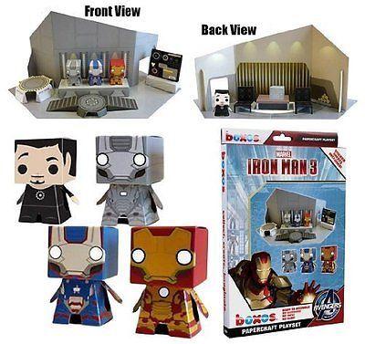 30952ada11c Iron Man 3  Boxos Papercraft ~4