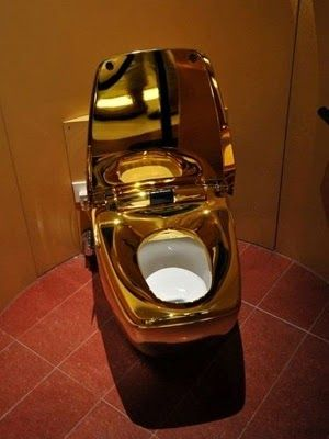 World\'s most expensive toilet. This incredibly luxury intensive ...