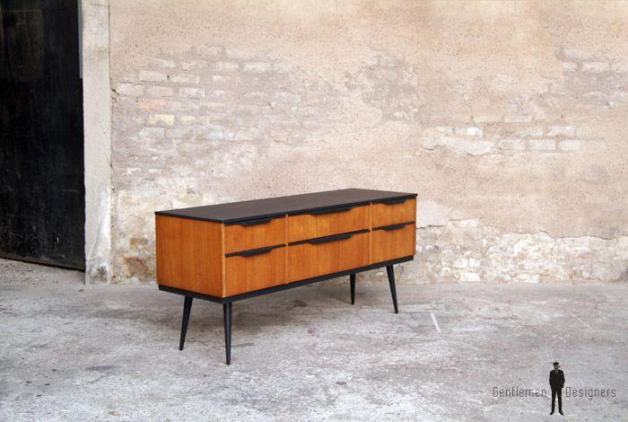 GENTLEMEN DESIGNERS, Mobilier vintage, made in France MEUBLE TV ...