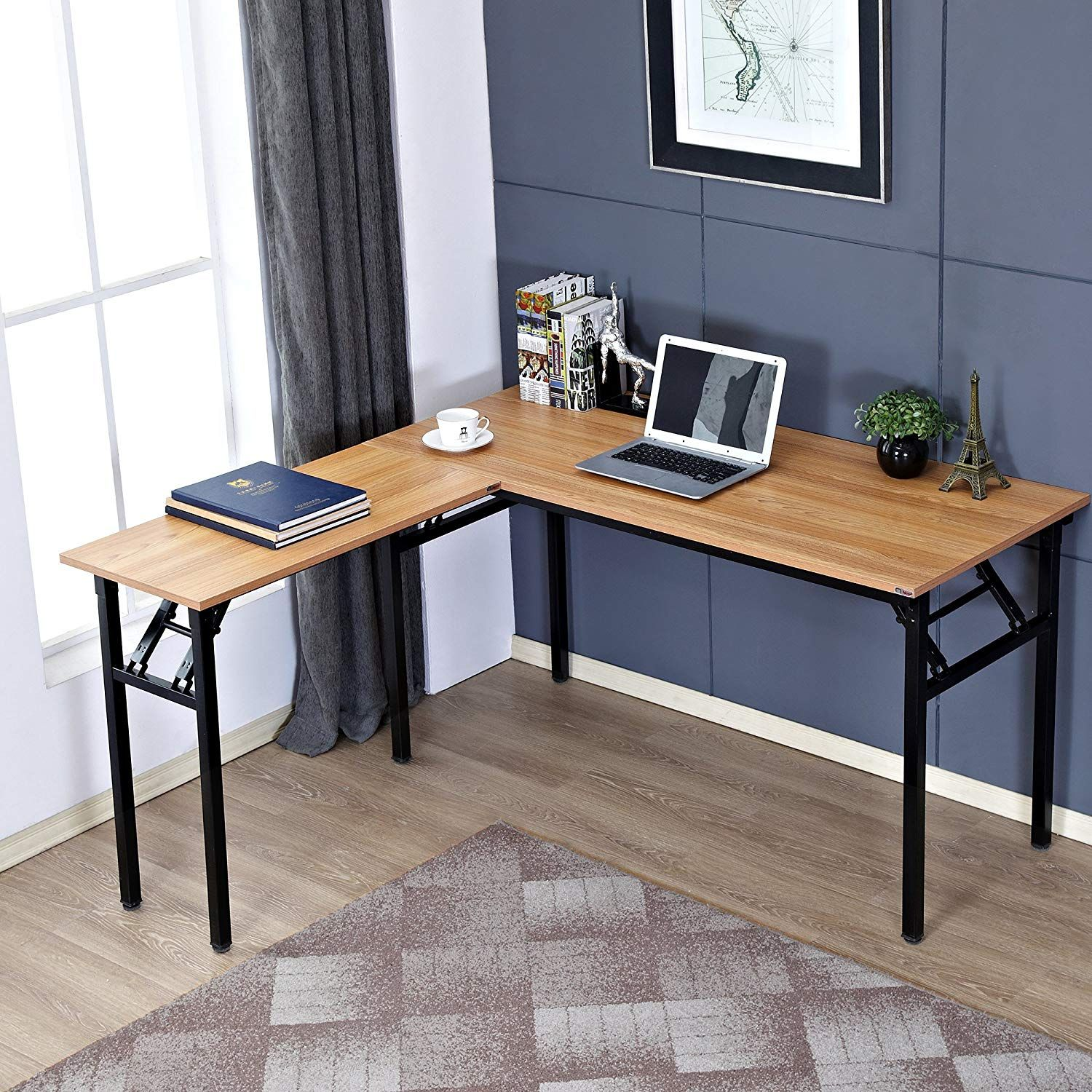 "Need 55"" x 55"" LShaped Folding Computer Desk"