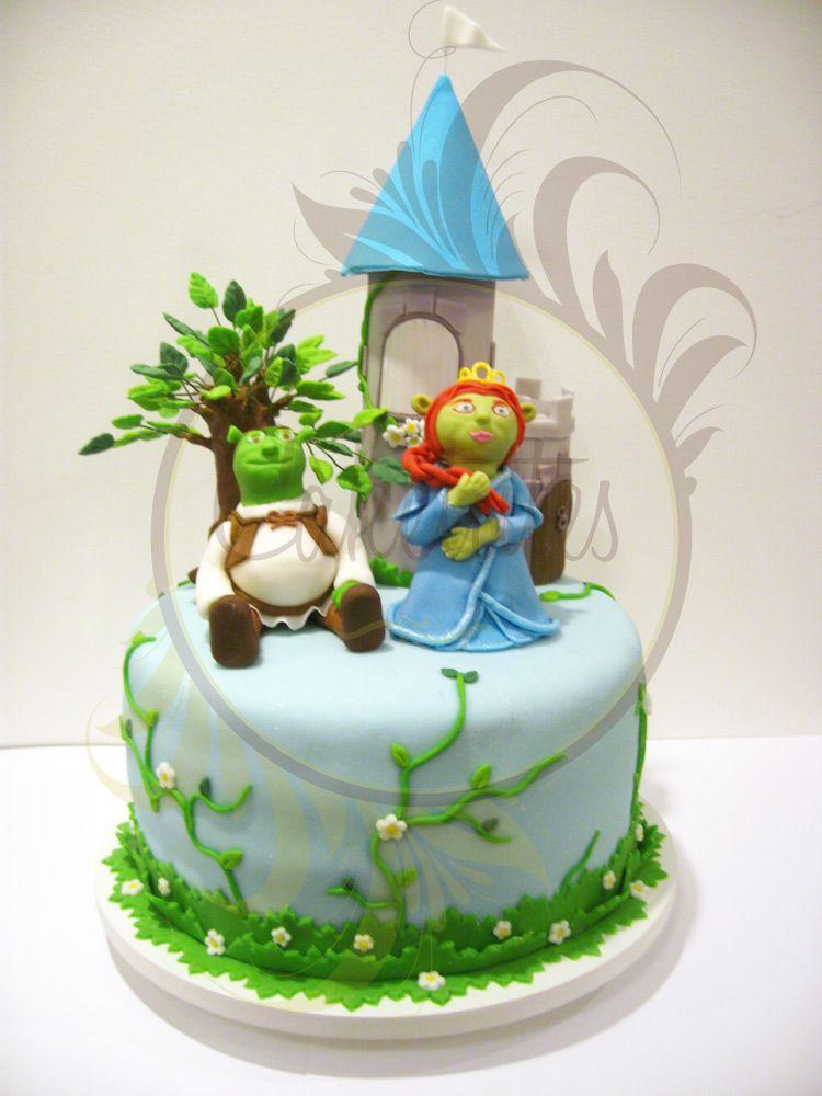 Shrek cake - Caketutes Cake Designer