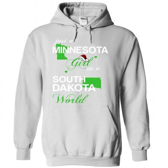 (MNNoelXanhChuoi002) Just A Minnesota Girl In A South_D - #country hoodie #purple sweater. FASTER => https://www.sunfrog.com/Valentines/-28MNNoelXanhChuoi002-29-Just-A-Minnesota-Girl-In-A-South-5FDakota-World-White-Hoodie.html?68278