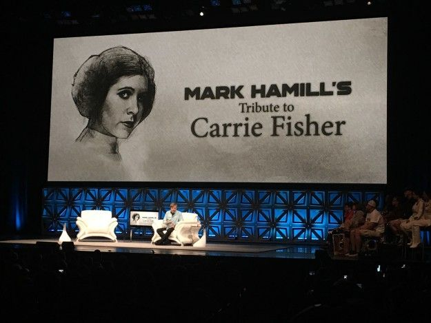 Mark Hamills Tribute To Carrie Fisher Was Perfectly Funny And Heartbreaking