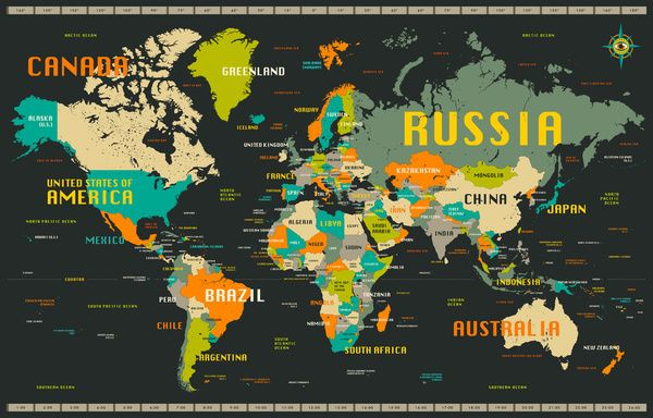 World map art print by jazzberry blue society6 maps pinterest world map art print by jazzberry blue society6 gumiabroncs Image collections