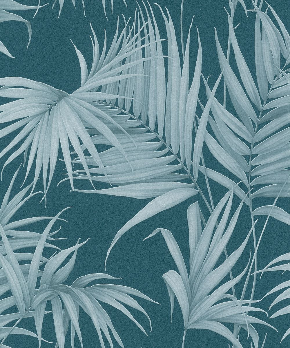 Palm Leaf by Albany Teal Wallpaper 365055 Teal