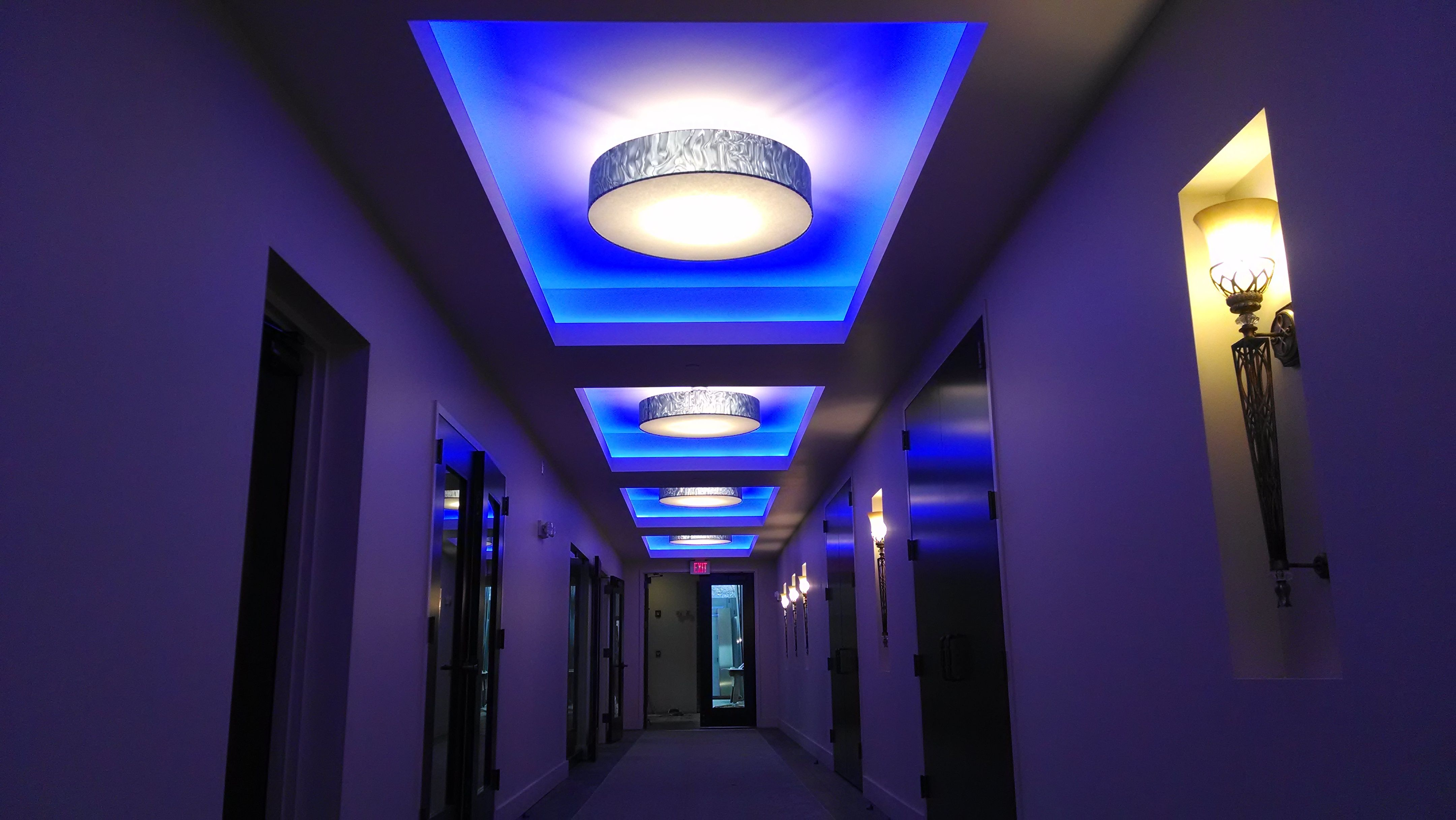 Custom Led Interior Lighting Job Change Colors And Control With An Ipad Citygrill Rochester Ny