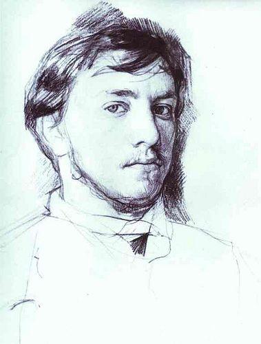 Valentin Serov, #Self-Portrait, 1883. The Russian #Museum, St. Petersburg