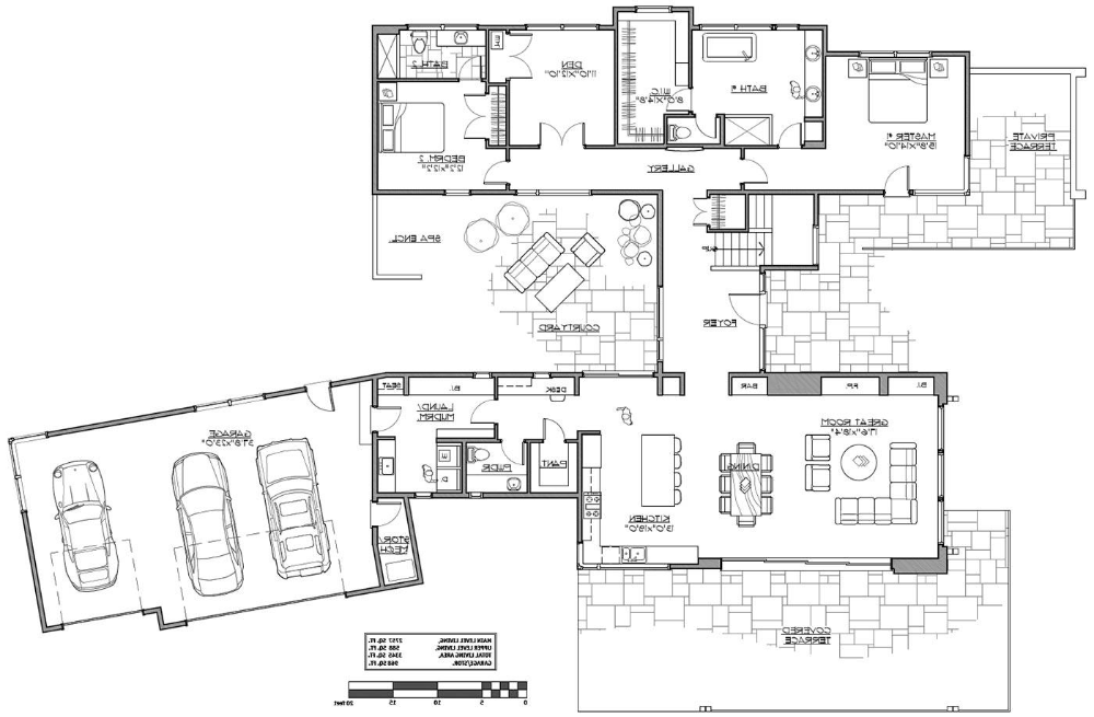 Modern Two Story House Plan Two Story House Plans House Plans Story House