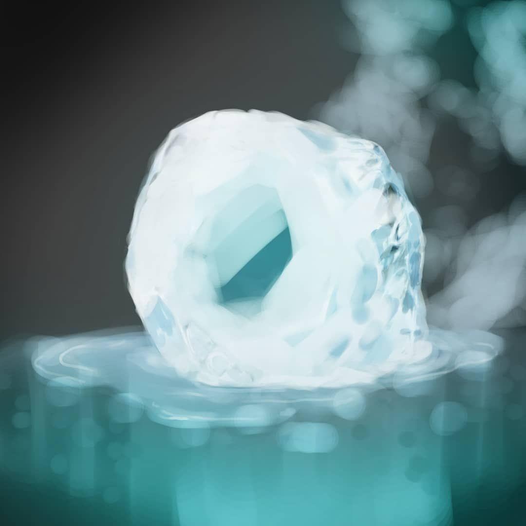 ice ❄️ #drawing #draw #art #arte #digital #digitalart #ipadpro #applepencil #ipadproart #speedart #speeddrawing...