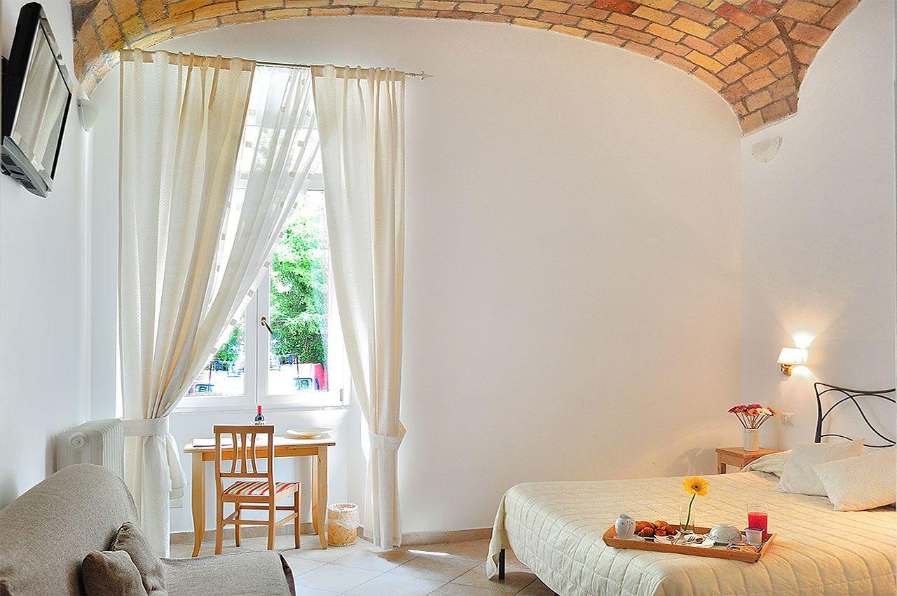 RELAIS LE CLARISSE: sólo 11 habitaciones muy especiales en el corazón del Trastevere (Roma)
