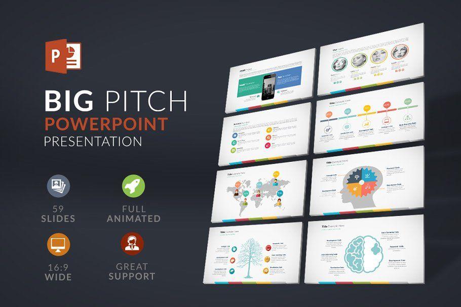 Big Pitch  Powerpoint Presentationpresentation design  presentation layout  presentation  presentation board design  presentation template