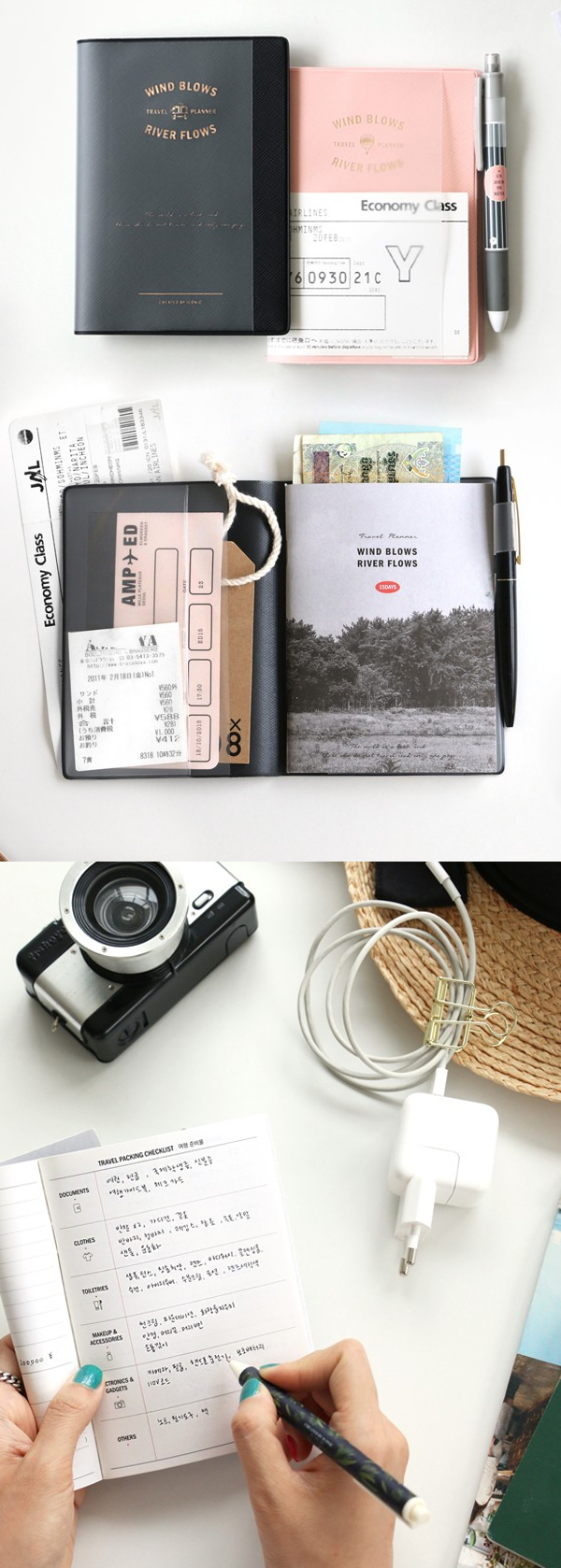 Make the most of your next trip? Use this beautiful Wind Blows Travel Planner to plan the best vacation or adventure! It comes with a cover and 7 pockets. Store your cards, tickets, photos, and even a passport or boarding pass! It has a pen holder, too! It's the easiest way to keep all your travel necessities together. Make checklists, track your expenses, and record each activity with this planner's endless features! Organize your travel life with this perfect travel companion. Check it…