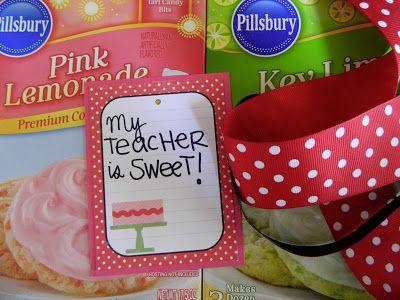 """baking supplies... """"My teacher is sweet!"""""""
