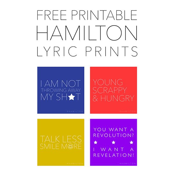 photo relating to Hamilton Lyrics Printable identified as Absolutely free Hamilton Lyric Printables For my clroom Cost-free
