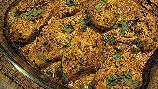 ginger, lemon chipotle Tandoori Masala Chicken   cupcakesluvs