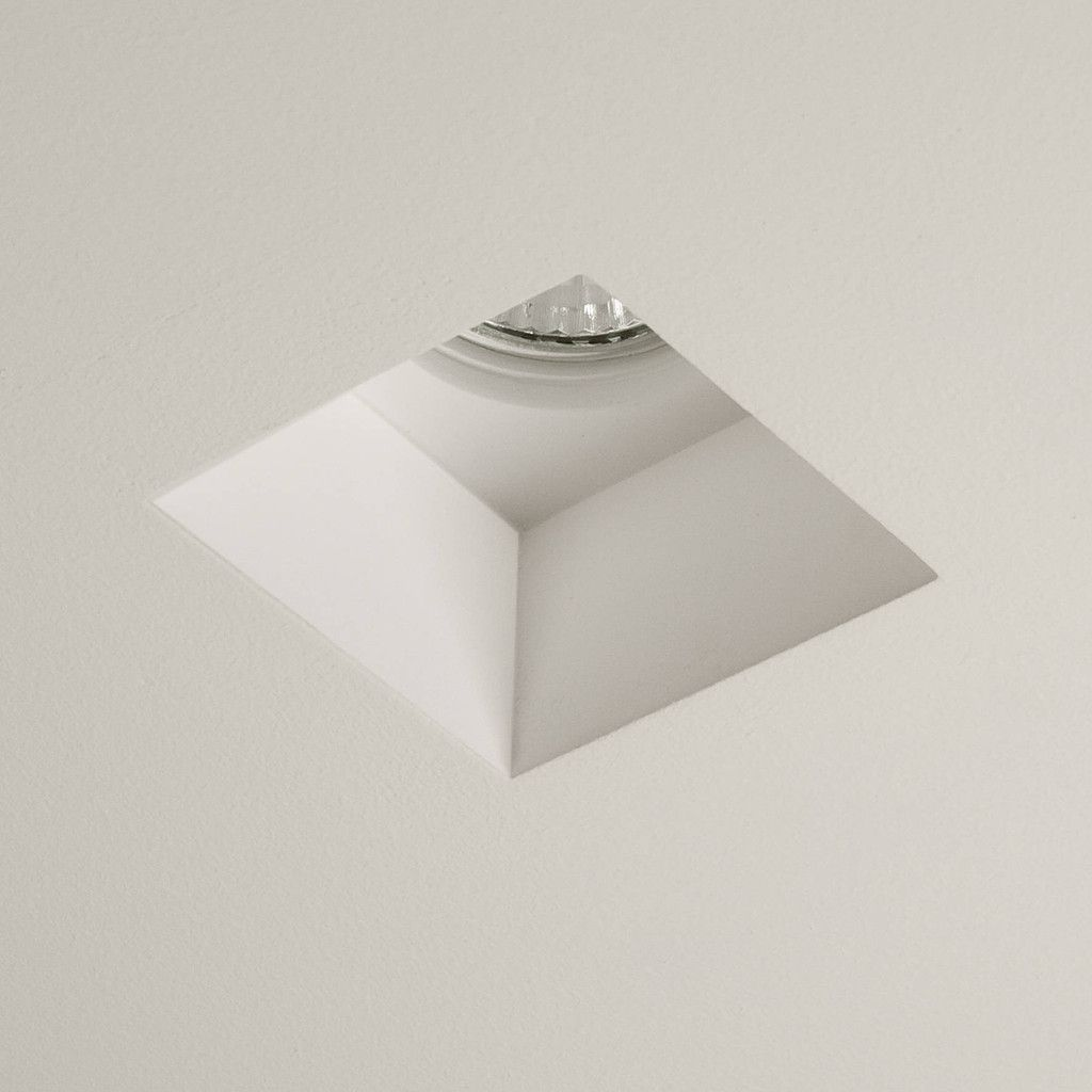 Astro 5655 Blanco Square Recessed Plaster Downlight Recessed Lighting Interior Lighting Downlights