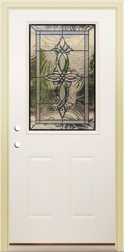 Mastercraft Ag 106 Primed Steel 1 2 Lite Prehung Ext Door At Menards Prehung Doors Exterior Doors Door Redo
