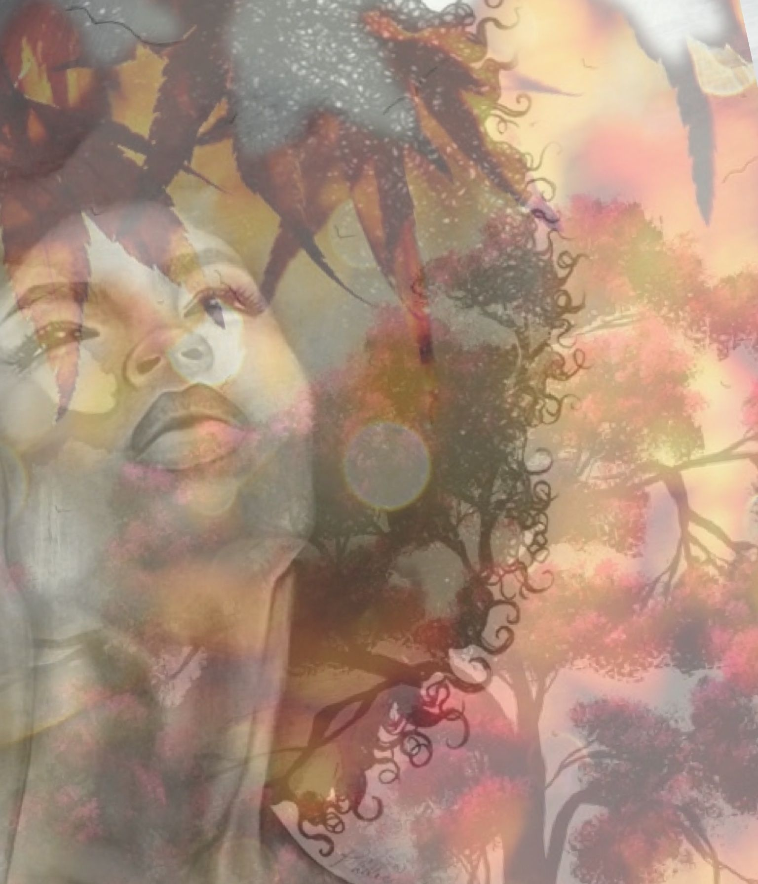 beautiful soul... - made by Heidi Cobb with Bazaart #collage