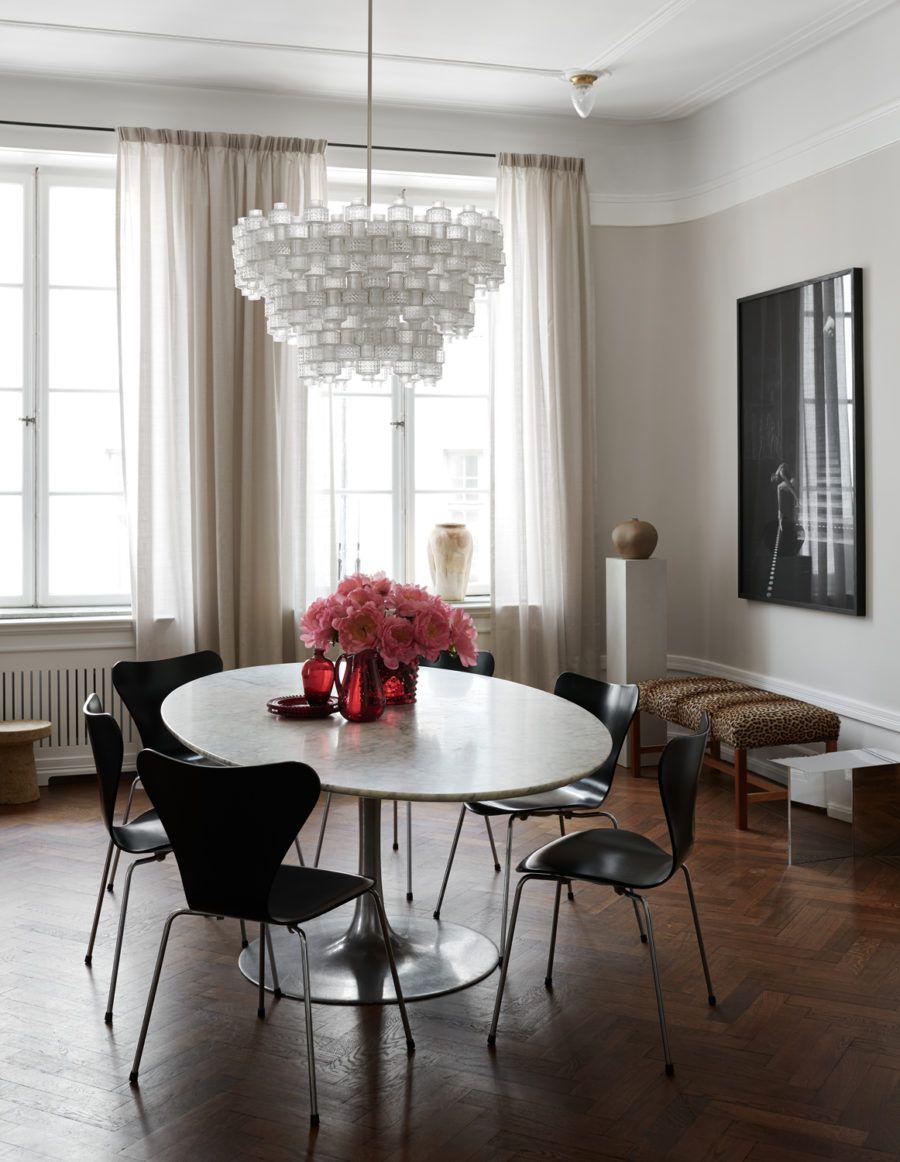 Neue stil zu hause design-bilder hemma hos inredaren claes dalén och tvproducenten johan pråmell