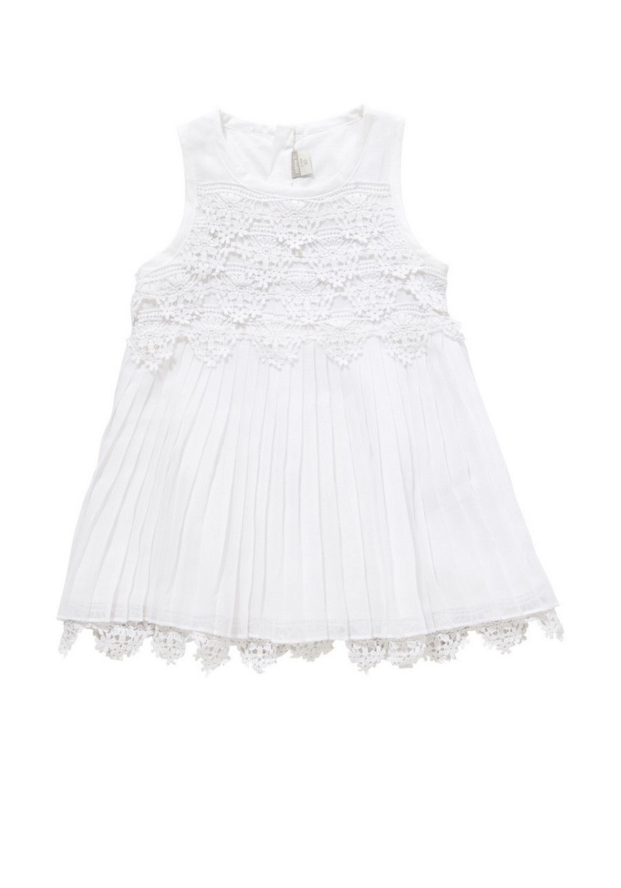 Clothing at Tesco | Name It Crochet Pleated Dress > dresses > Baby Event > Baby