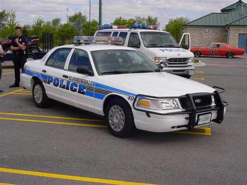 Bloomingdale Il Police 40 Ford Cvpi Police Cars Us Police Car Police
