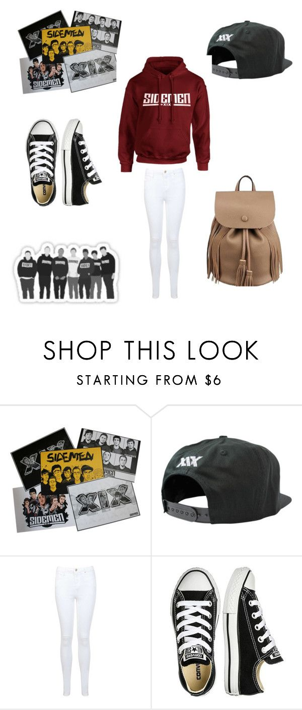 """Untitled #752"" by elsie-jones ❤ liked on Polyvore featuring Miss Selfridge and Converse"