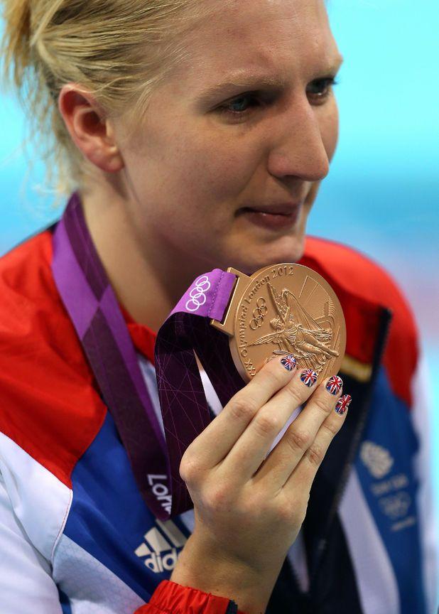 Swimming Rebecca Addlington Also Won Bronze In The Women S Freestyle 800m Rebecca Addlington Olympic Games Rebecca