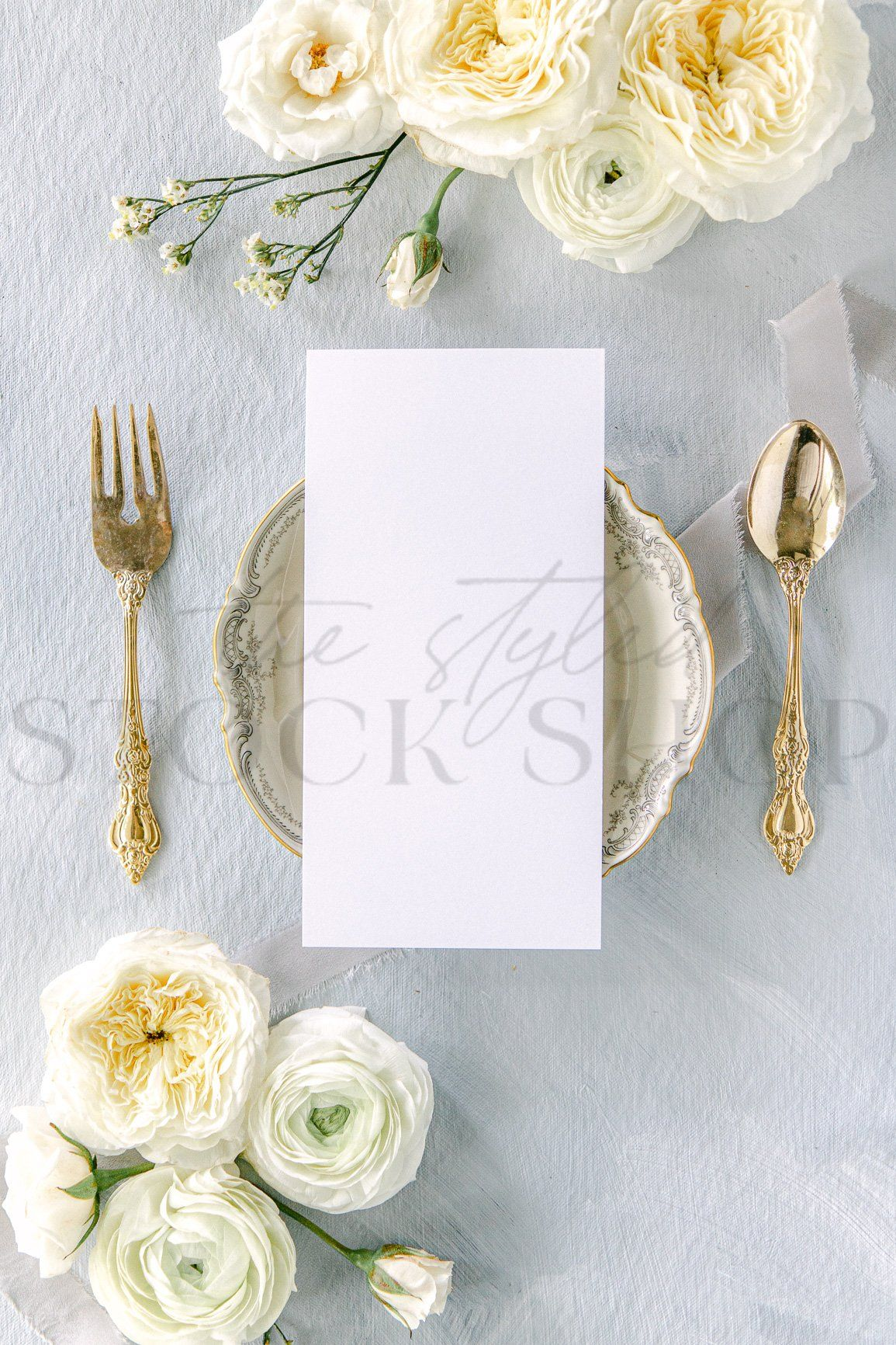 Quickly and beautifully mock up your wedding stationery designs with images from The Styled Stock Shop. Ideal for client proofs, Instagram, Pinterest, and Web. New! The Ethereal Collection was meticulously refreshed with a fine-art, film photography style. Images from the Ethereal Collection are ideal for attracting high-end clients and showcasing a variety of design styles. This collection was styled using luxury white garden roses and white ranunculus, vintage stamps, antique art-deco hand mir
