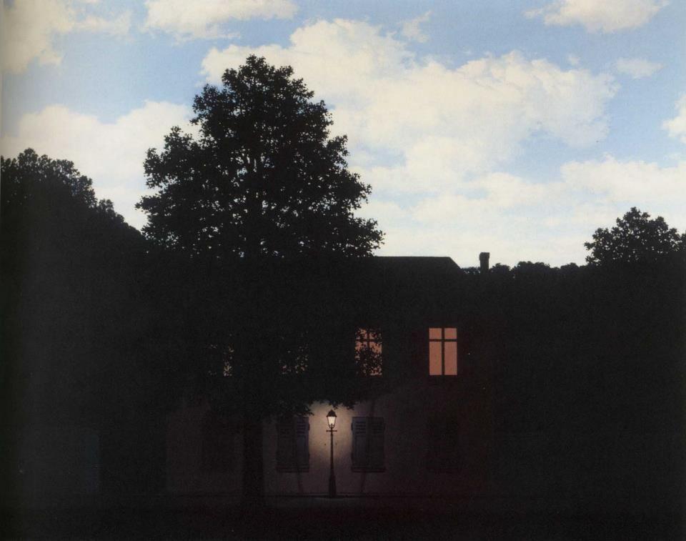 Magritte L Empire Des Lumi 232 Res Ren 233 L Impero Delle Luci