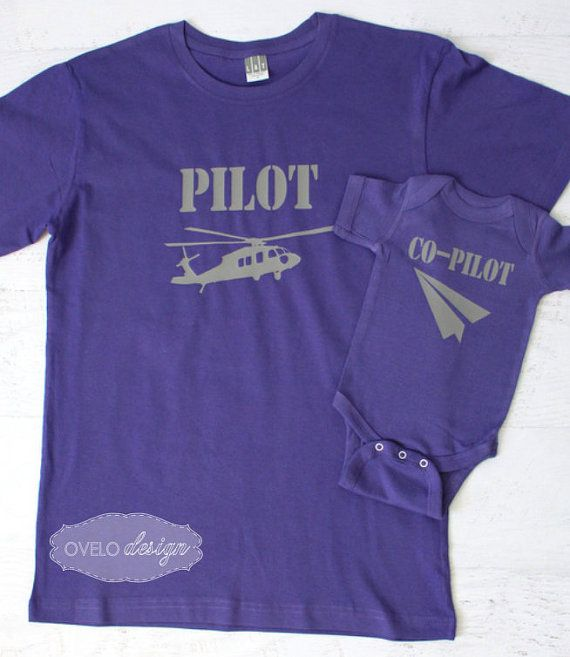 Pilot Co-pilot Family Pick your Aviation and color combo by OVELO