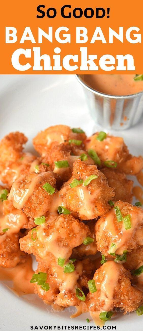 Moins de 30 minutes Meilleur poulet Bang Bang!
