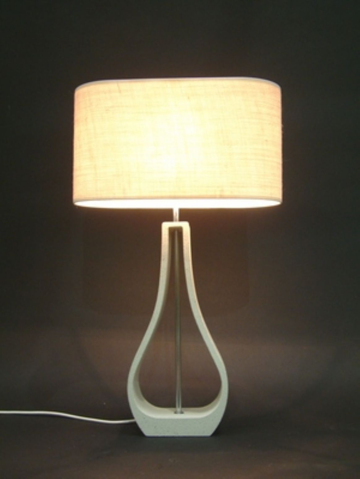 Decorative Hollow Cream Table Lamp With A Cream Shade In 2020 Cream Table Lamps Table Lamp Lamp