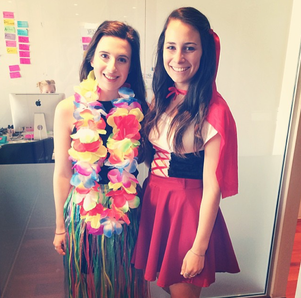 The #Mamamia team does #Halloween. #costumes #dressups