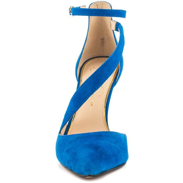 c08609c3289 Jessica Simpson Women s Castana - Blue Nile Lux Kid Suede ( 90) ❤ liked on